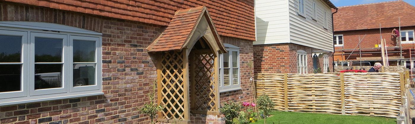 Kent peg tiled porch